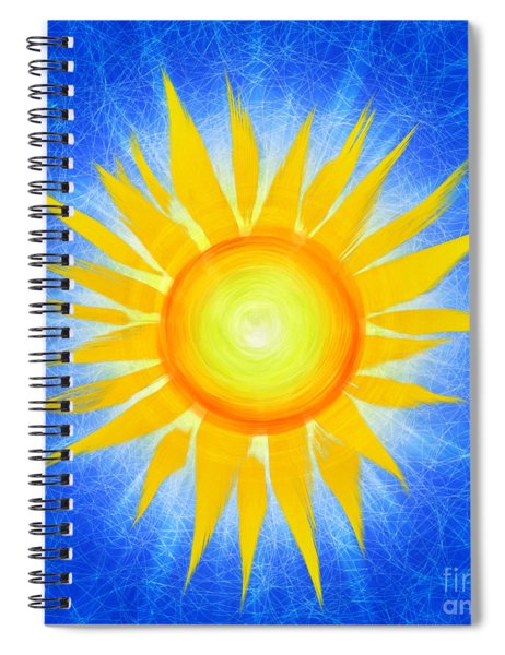 Sun Flower Spiral Notebook