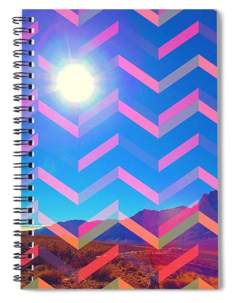 Sun God Spiral Notebook