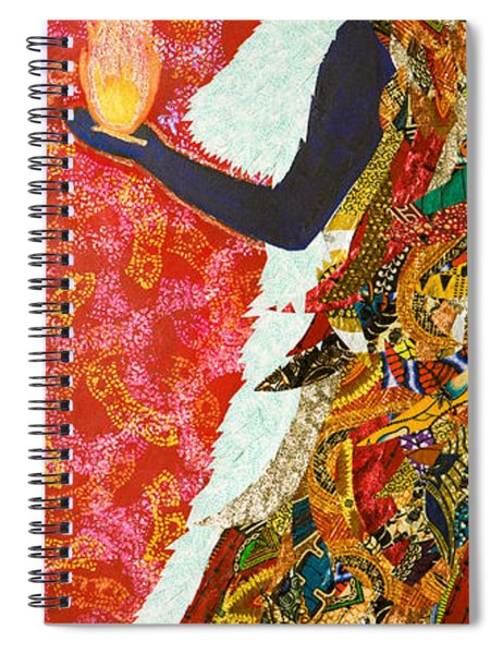 Sun Guardian - The Keeper Of The Universe Spiral Notebook