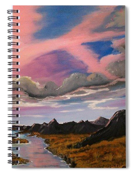Arizona Sunrise  Spiral Notebook