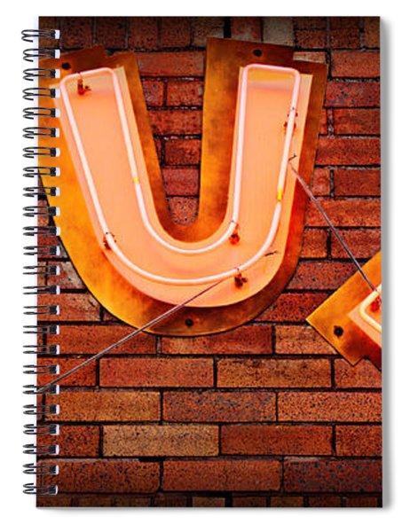Sun Studio Neon Spiral Notebook