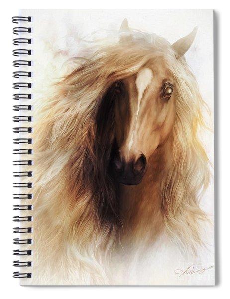 Sundance Horse Portrait Spiral Notebook