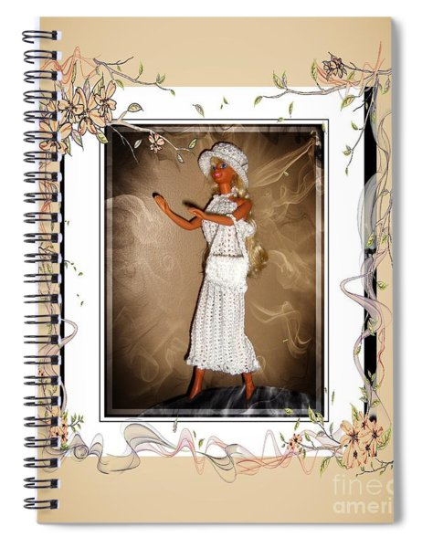Sunday Brunch With Friends - Fashion Doll - Girls - Collection Spiral Notebook