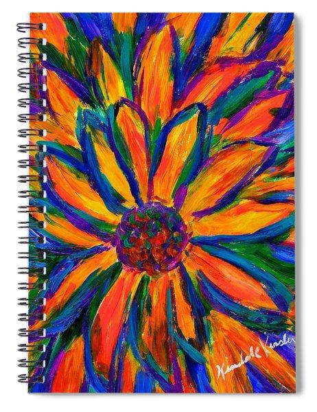 Sunflower Burst Spiral Notebook