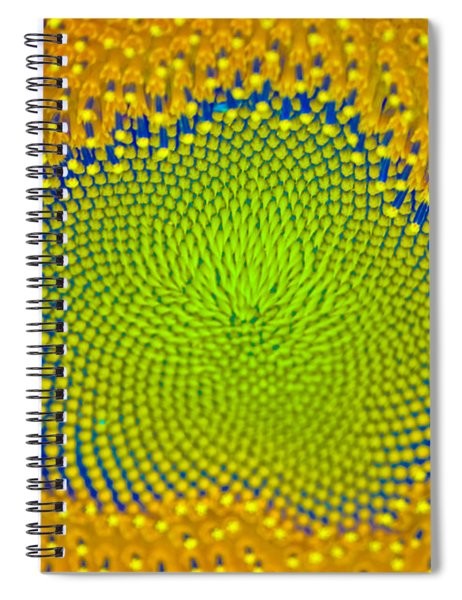 Sunflower Center Spiral Notebook