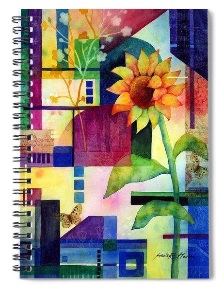 Sunflower Collage 2 Spiral Notebook