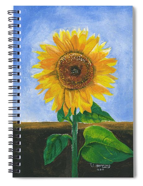 Sunflower Series Two Spiral Notebook