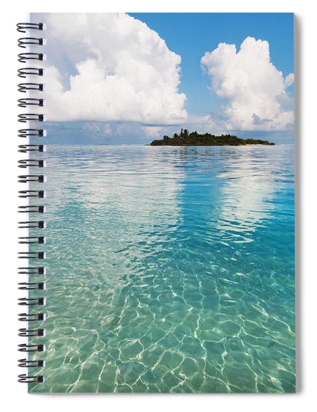 Sunny Invitation For  You. Maldives Spiral Notebook