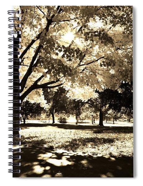 Sunny October Spiral Notebook