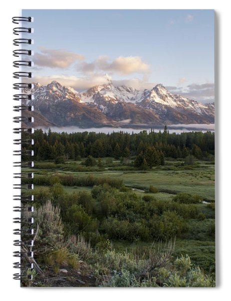 Sunrise At Grand Teton Spiral Notebook