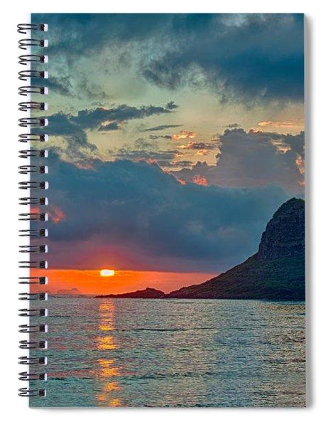 Sunrise At Kualoa Park Spiral Notebook