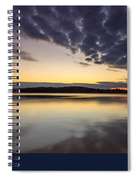 Sunrise On The Lake Spiral Notebook
