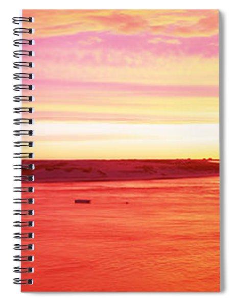 Sunrise Chatham Harbor Cape Cod Ma Usa Spiral Notebook