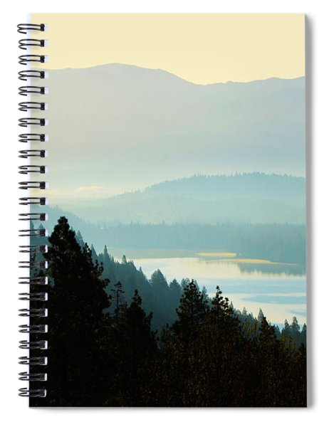 Sunrise Donner Lake California Spiral Notebook