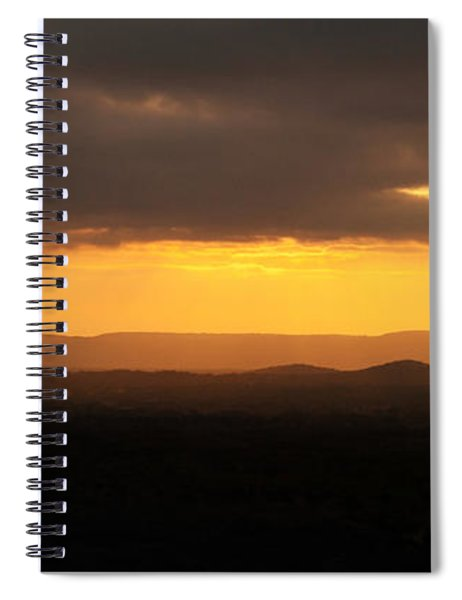 Sunrise From Enchanted Rock Spiral Notebook