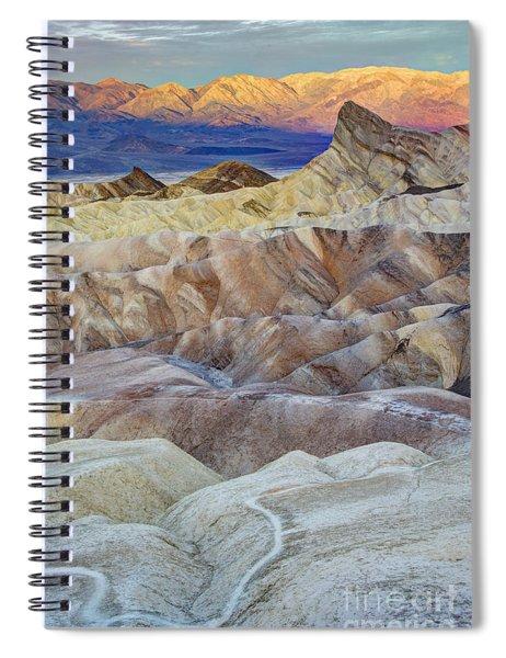 Sunrise In Death Valley Spiral Notebook