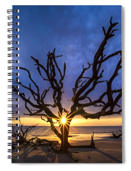Sunrise Jewel Spiral Notebook