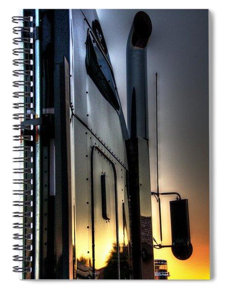 Sunrise K W 34748 Spiral Notebook