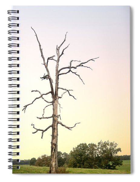 Sunrise On Ghost Tree Spiral Notebook