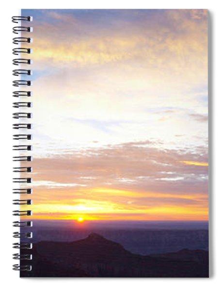 Sunrise On The Colorado Plateau Spiral Notebook