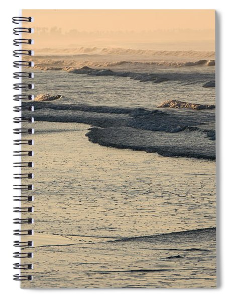 Sunrise On The Ocean Spiral Notebook