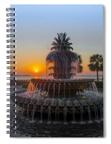 Sunrise Over Charleston Spiral Notebook