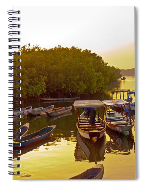 Sunrise Over Gambian Creek Spiral Notebook