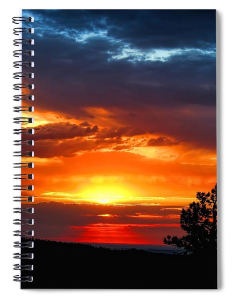 Sunrise Over Keystone Spiral Notebook