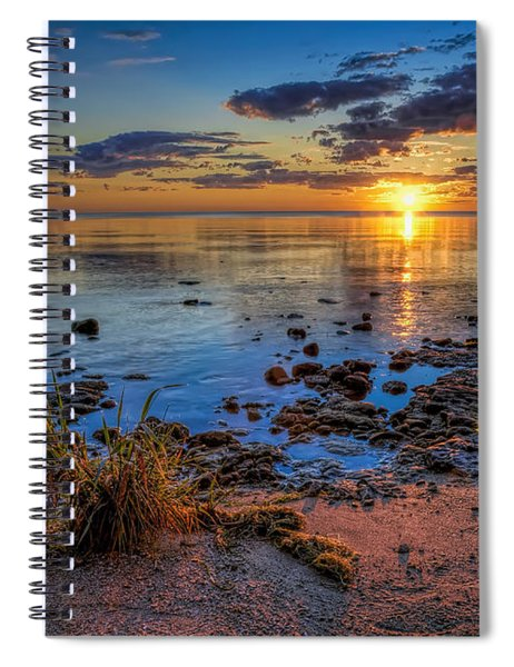 Sunrise Over Lake Michigan Spiral Notebook