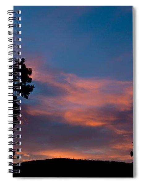 Sunrise Over Mammoth Campground Spiral Notebook