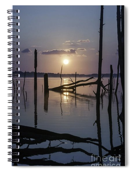 Sunrise Over Manasquan Reservoir Spiral Notebook