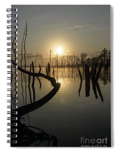 Sunrise Over Manasquan Reservoir II Spiral Notebook