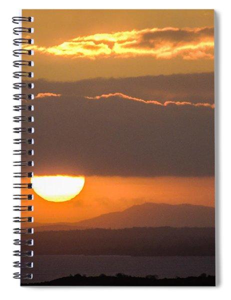Sunrise Over River Shannon Spiral Notebook