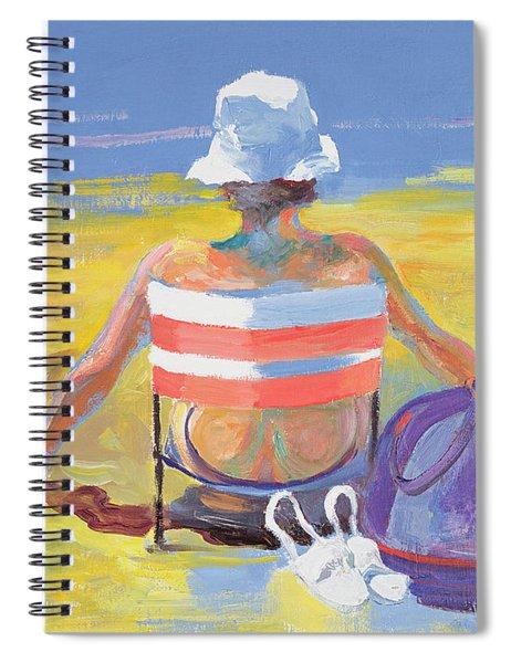 Sunseeker, 2005 Oil On Board Spiral Notebook