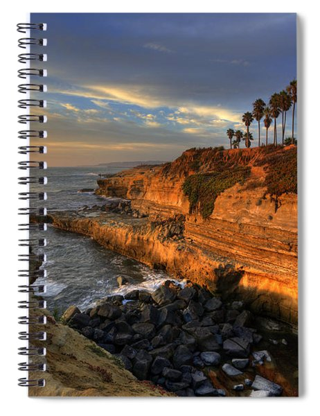 Sunset Cliffs Spiral Notebook