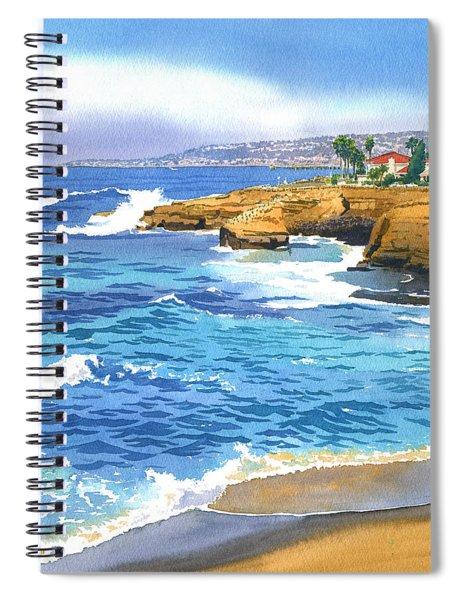 Sunset Cliffs Point Loma Spiral Notebook