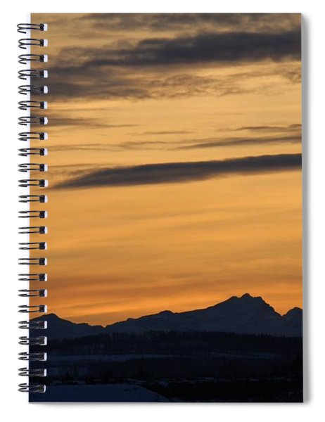 Sunset From 567 Spiral Notebook
