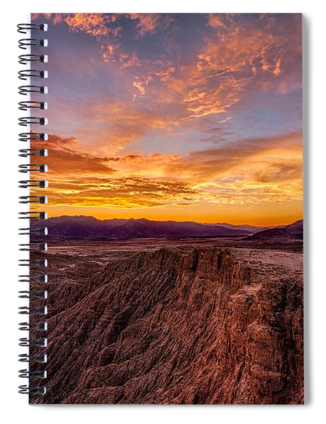 Sunset From Font's Point Spiral Notebook