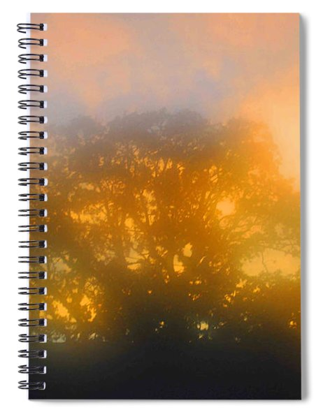 Sunset Mocks Sunrise Spiral Notebook