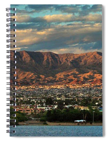 Sunset Over Havasu Spiral Notebook