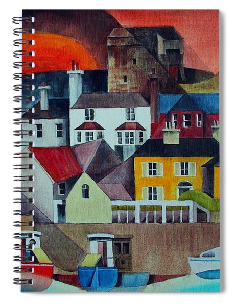Sunset Over Howth Spiral Notebook