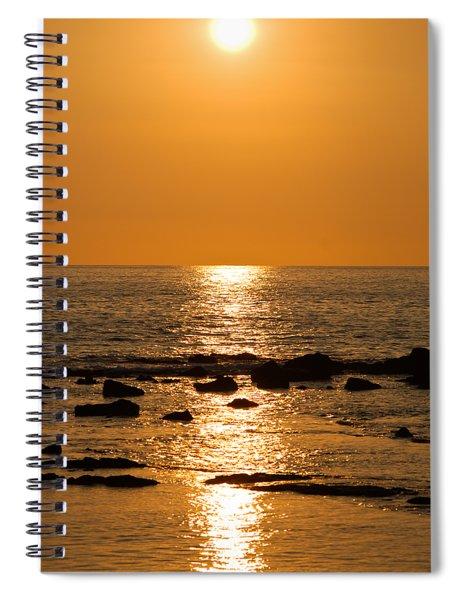 Sunset Over Kona Spiral Notebook