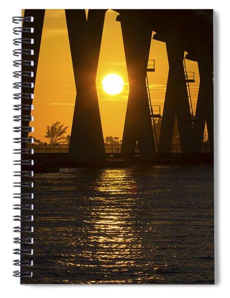 Sunset Over Sanibel Island Photo Spiral Notebook