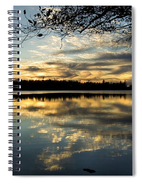Sunset Reflection Spiral Notebook