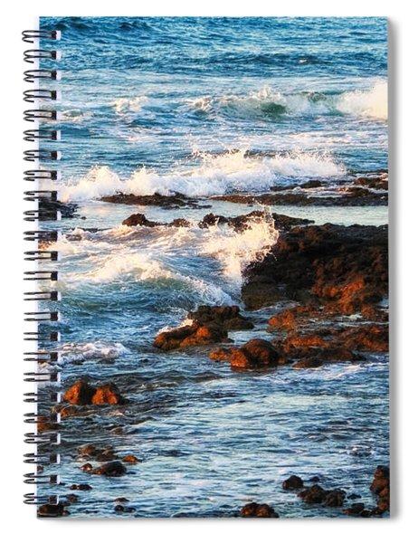 Sunset Shore Spiral Notebook