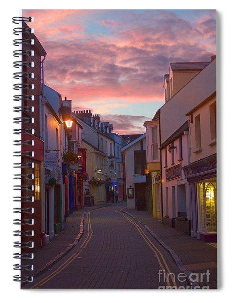 Sunset Street Spiral Notebook