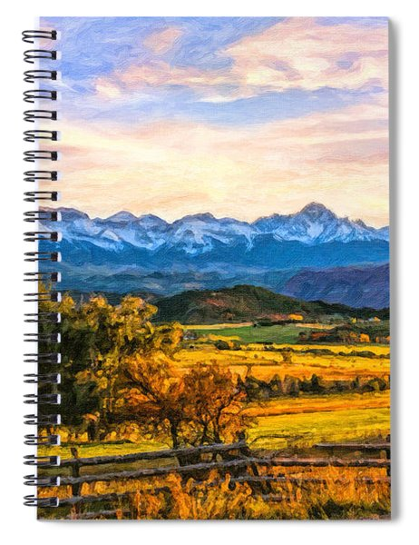 Sunset View Spiral Notebook