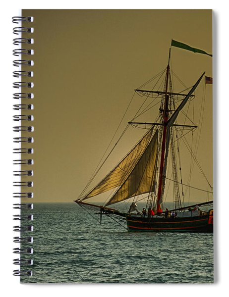 Sunset Voyage Spiral Notebook