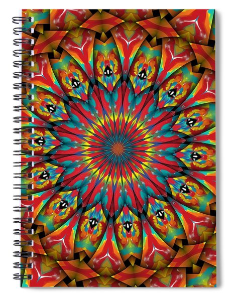 Sunsets In Texas Spiral Notebook