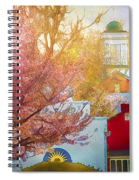 Sunshine In Springtime Spiral Notebook
